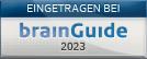 klare Texte + Bilder GmbH ist eingetragenes Unternehmen bei brainGuide