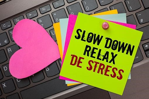 Slow Down Entspannen