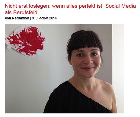 Cover zu Social Media als Berufsfeld: Nicht erst loslegen, wenn alles perfekt ist