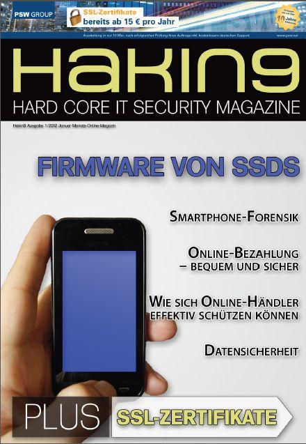 Cover zu Firmware von SSDs