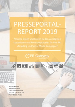 Cover zu Presseportal Report