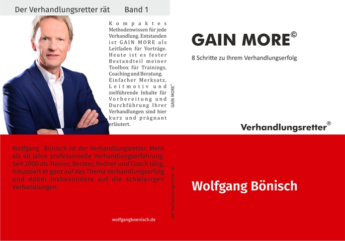 Cover zu GAIN MORE