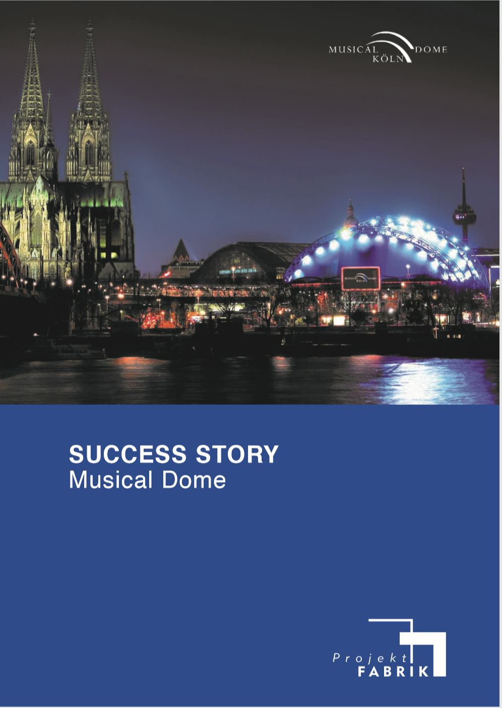 Cover zu Success Story - Zahlungsverkehr Musical Dome