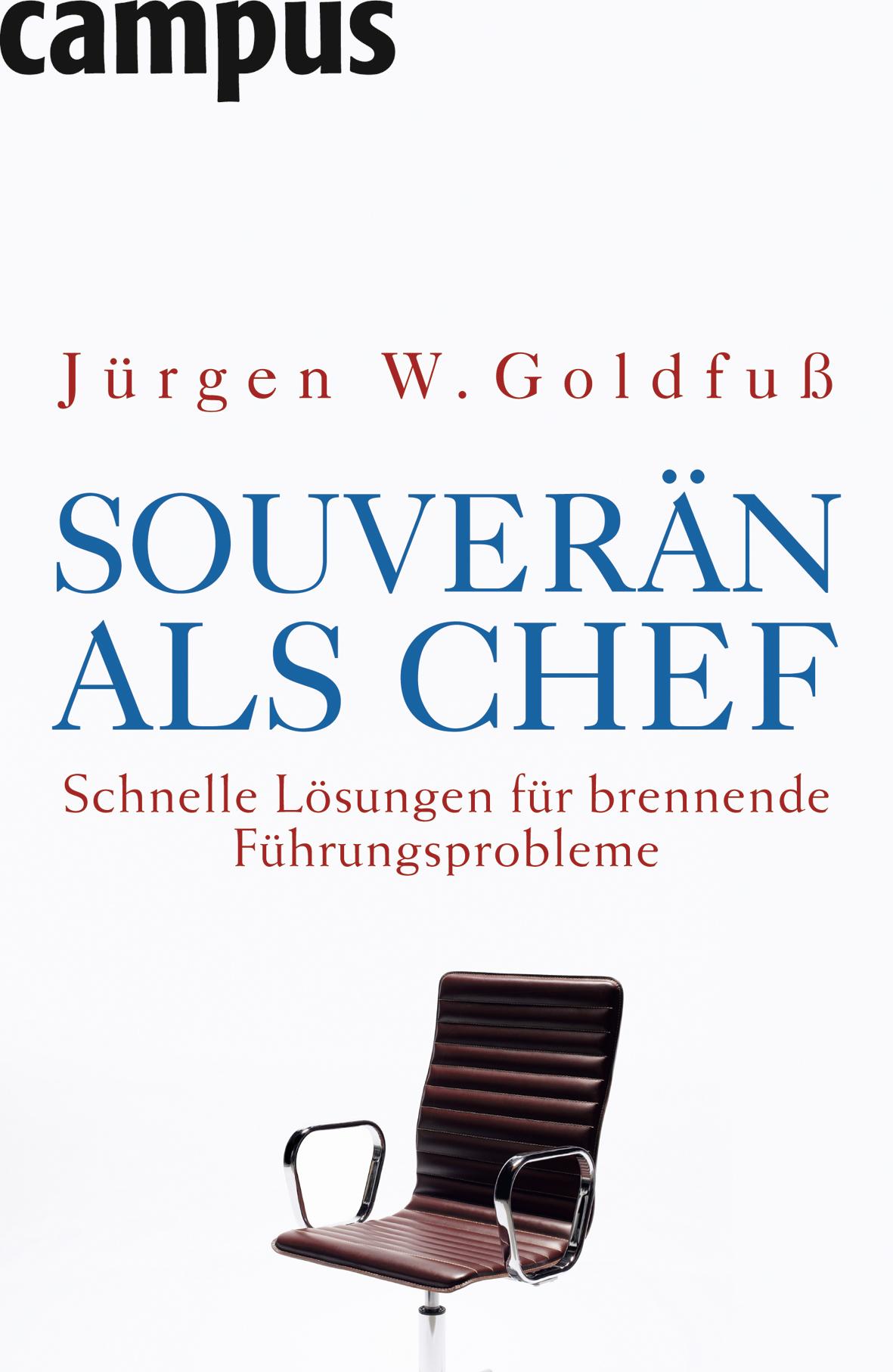 Cover zu Souverän als Chef