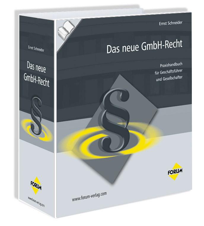 Cover zu Das neue GmbH-Recht