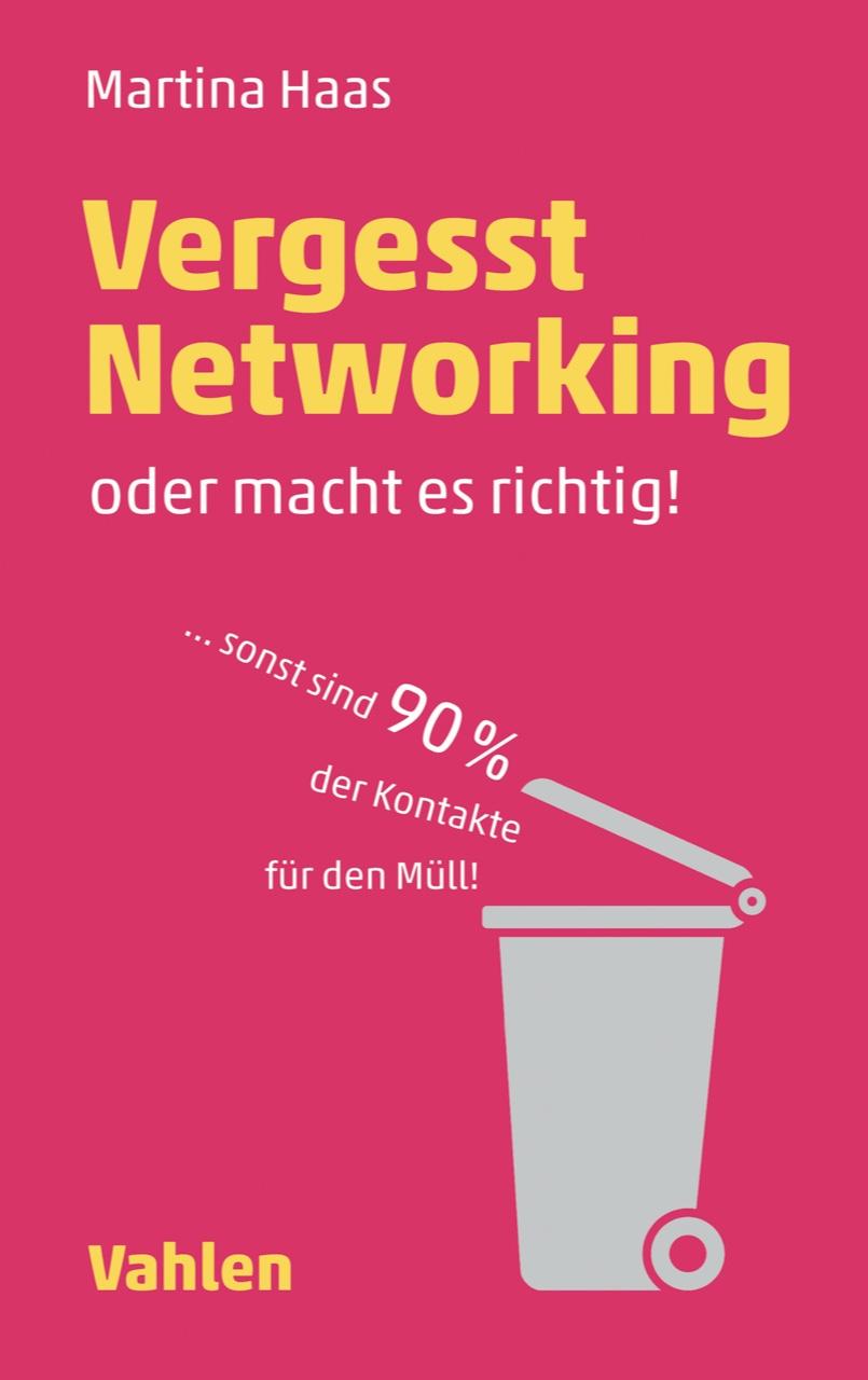 Cover zu Vergesst Networking - oder macht es richtig!