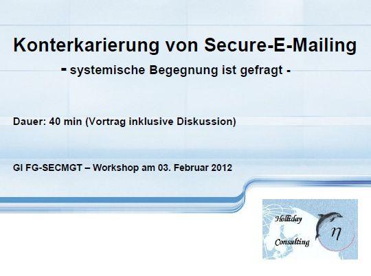 Cover zu Konterkarierung von Secure-E-Mailing