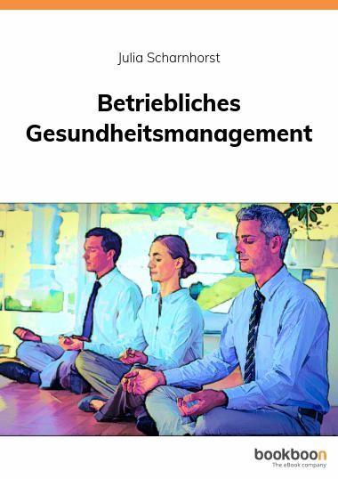 Cover zu Betriebliches Gesundheitsmanagement