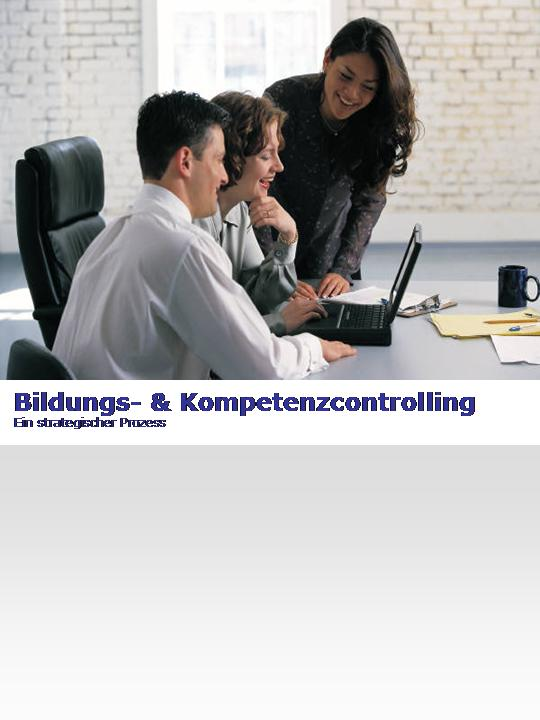 Cover zu Bildungs- und Kompetenzcontrolling. Ein strategischer Prozess