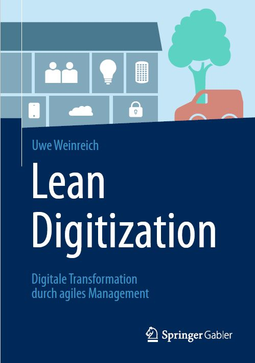 Cover zu Lean Digitization: Digitale Transformation durch agiles Management