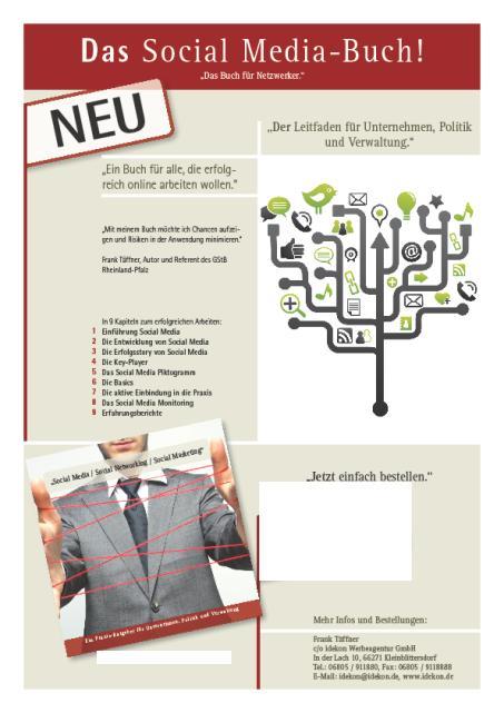 Cover zu Social Media Nutzung in Politik, Verwaltung und Unternehmen