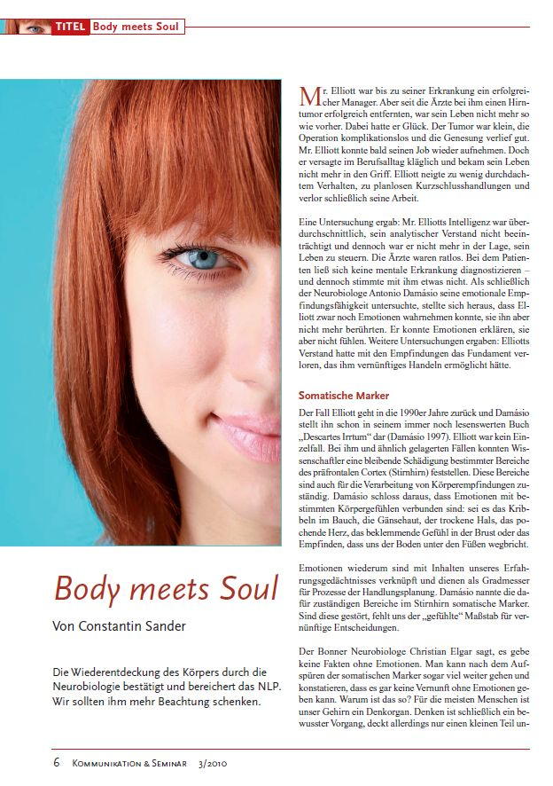 Cover zu Body meets Soul