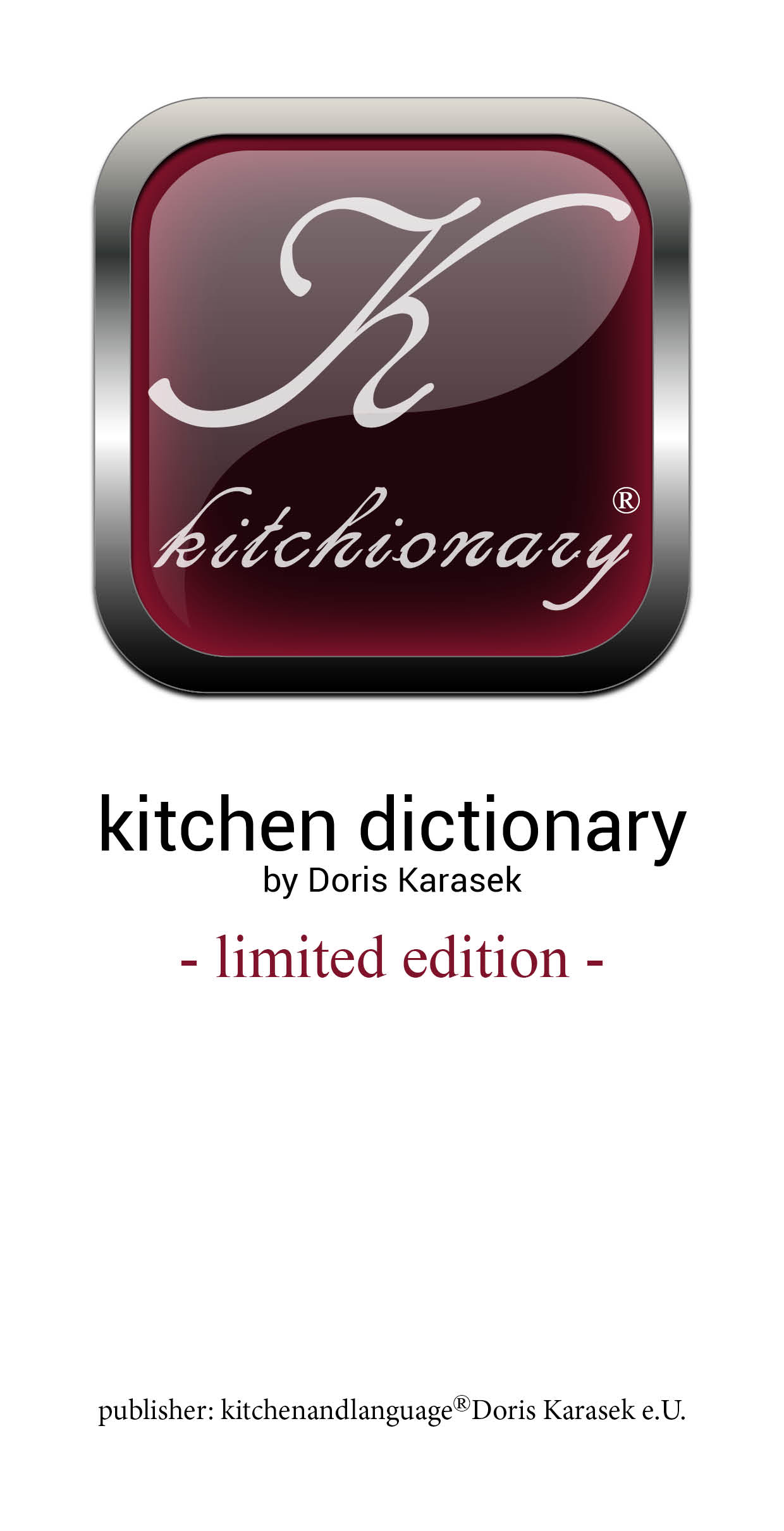 Cover zu kitchionary-kitchen dictionary