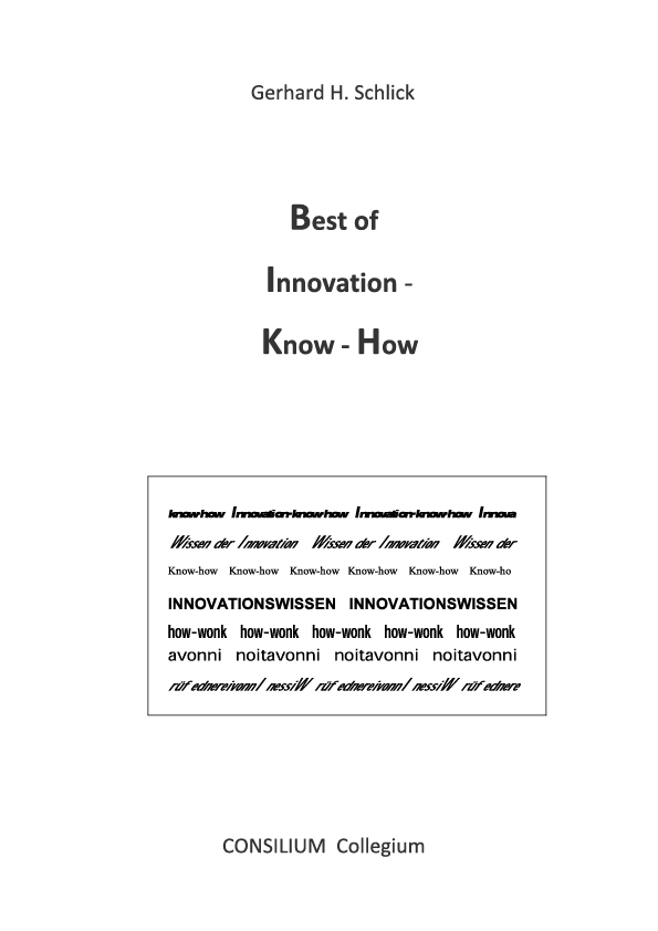 Cover zu Best of Innovation-Know-How