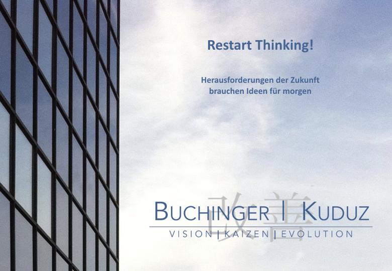 Cover zu Unternehmensprofil Buchinger | Kuduz