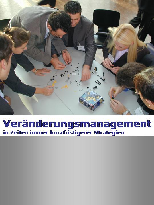 Cover zu Veränderungsmanagement in Zeiten immer kurzfristigerer Strategien