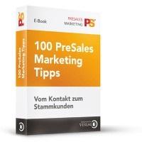 Cover zu 100 PreSales Marketing Tipps
