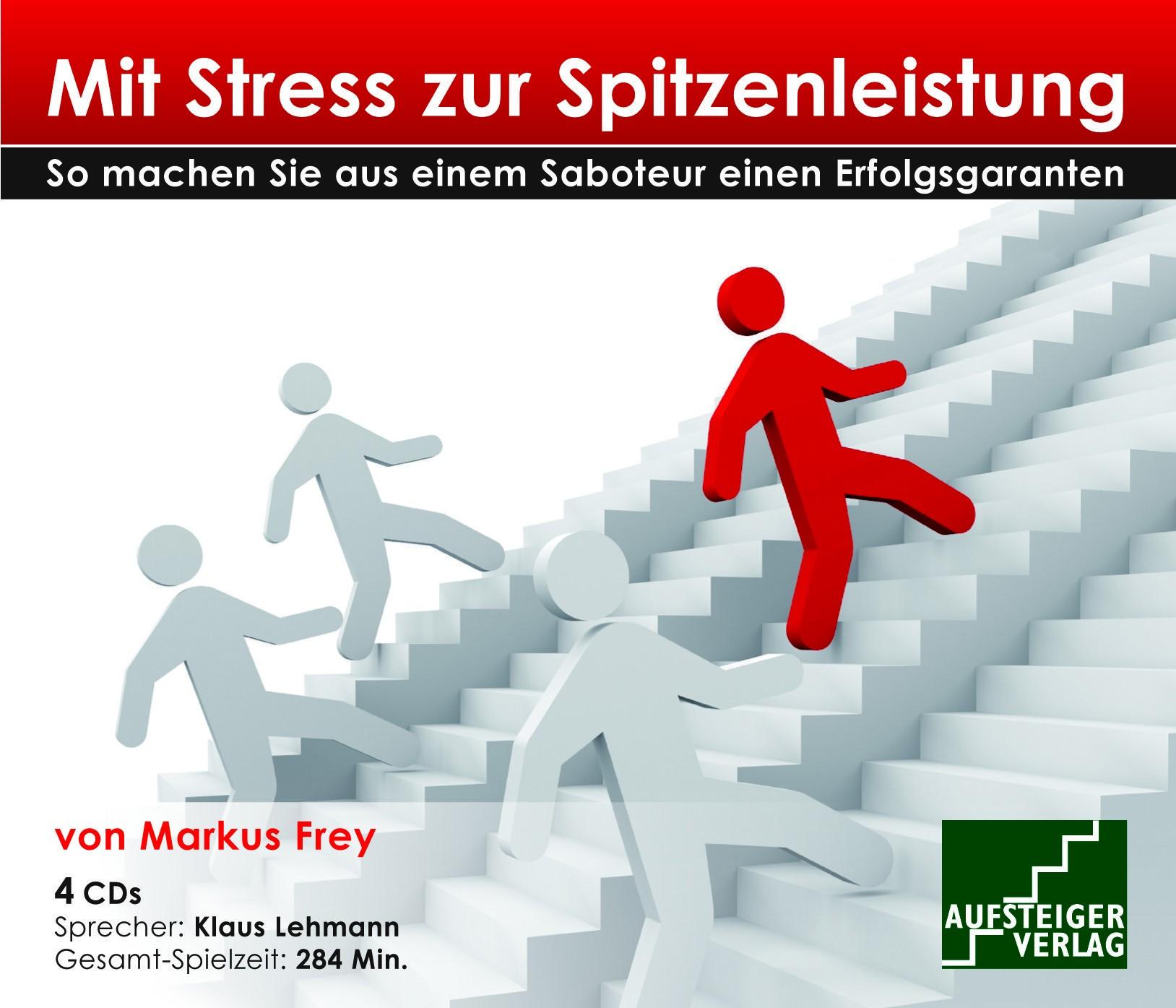 Cover zu Mit Stress zur Spitzenleistung