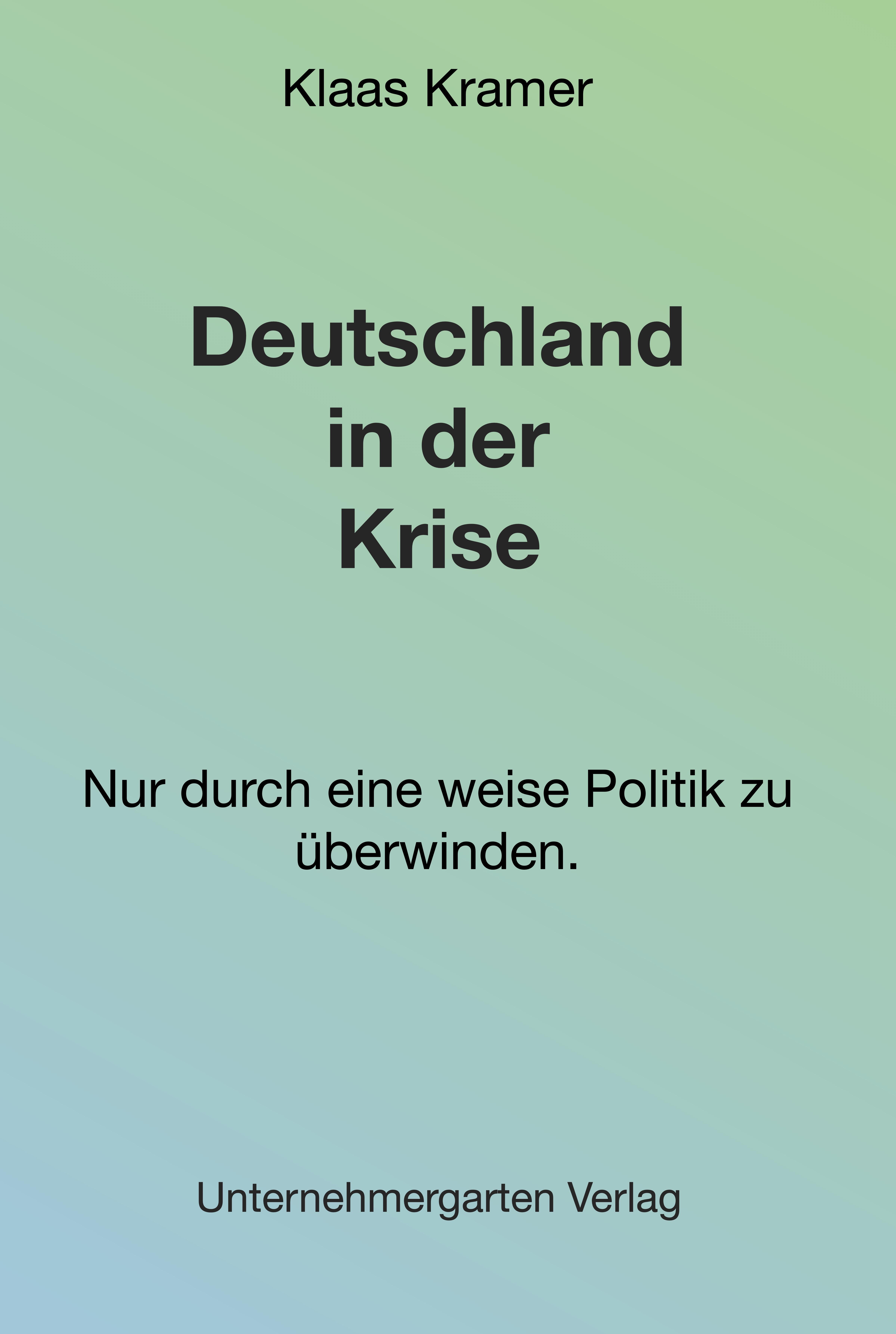 Cover zu Deutschland in der Krise