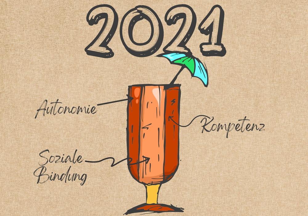 Cover zu Motivationscocktail 2021