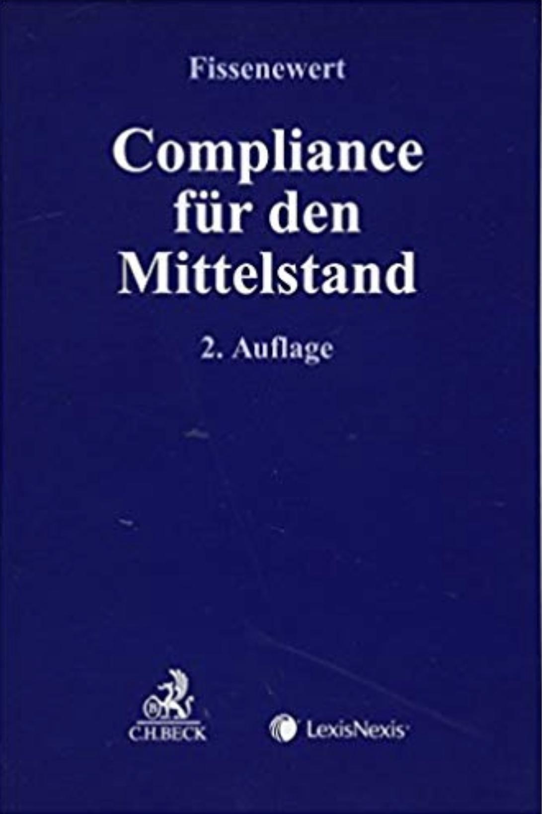 Cover zu Compliance für den Mittelstand