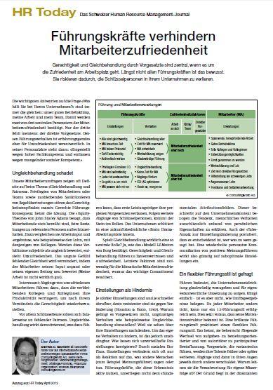 Cover zu Führungskräfte verhindern Mitarbeiterzufriedenheit (Mitarbeiterbefragung)
