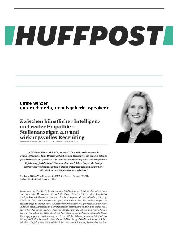 Cover zu Zwischen künstlicher Intelligenz und realer Empathie - Stellenanzeigen 4.0 und wirkungsvolles Recruiting