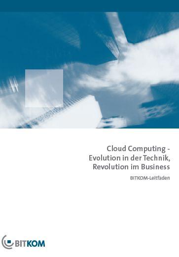 Cover zu Cloud Computing Leitfaden für den Mittelständler