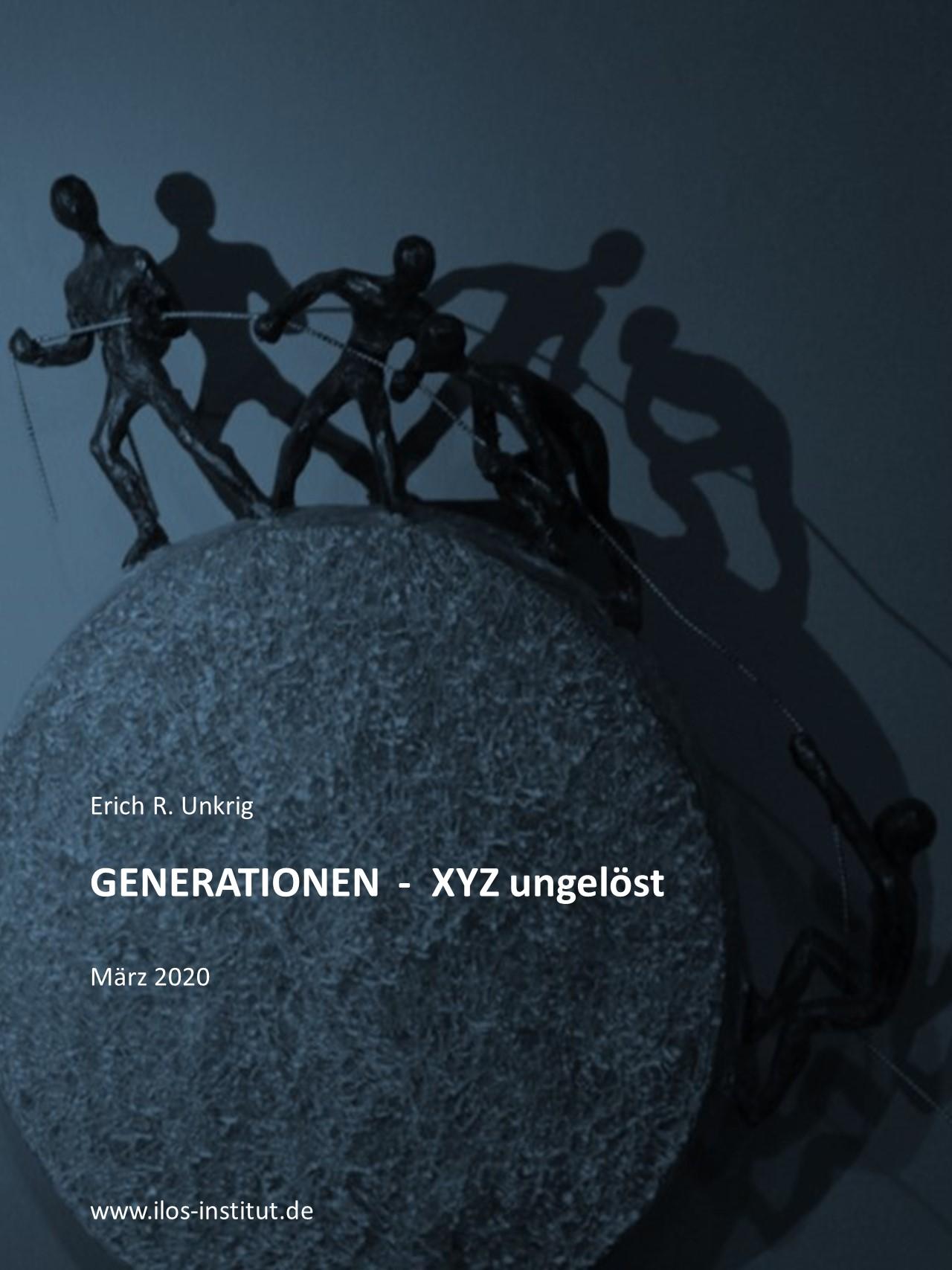 Cover zu GENERATIONEN - XYZ ungelöst!?
