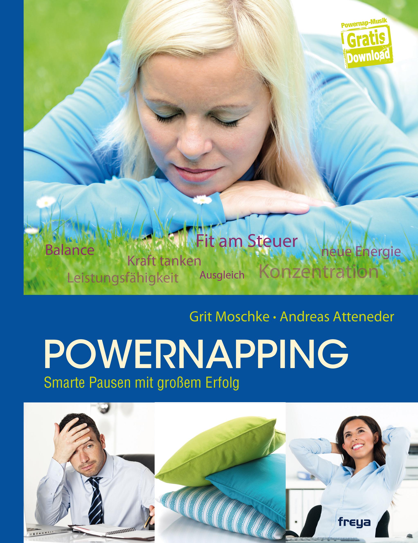 Cover zu Powernapping -Smarte Pausen mit großem Erfolg