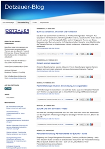 Cover zu Dotzauer-Blog: Personalmanagement, Führung, Change Management