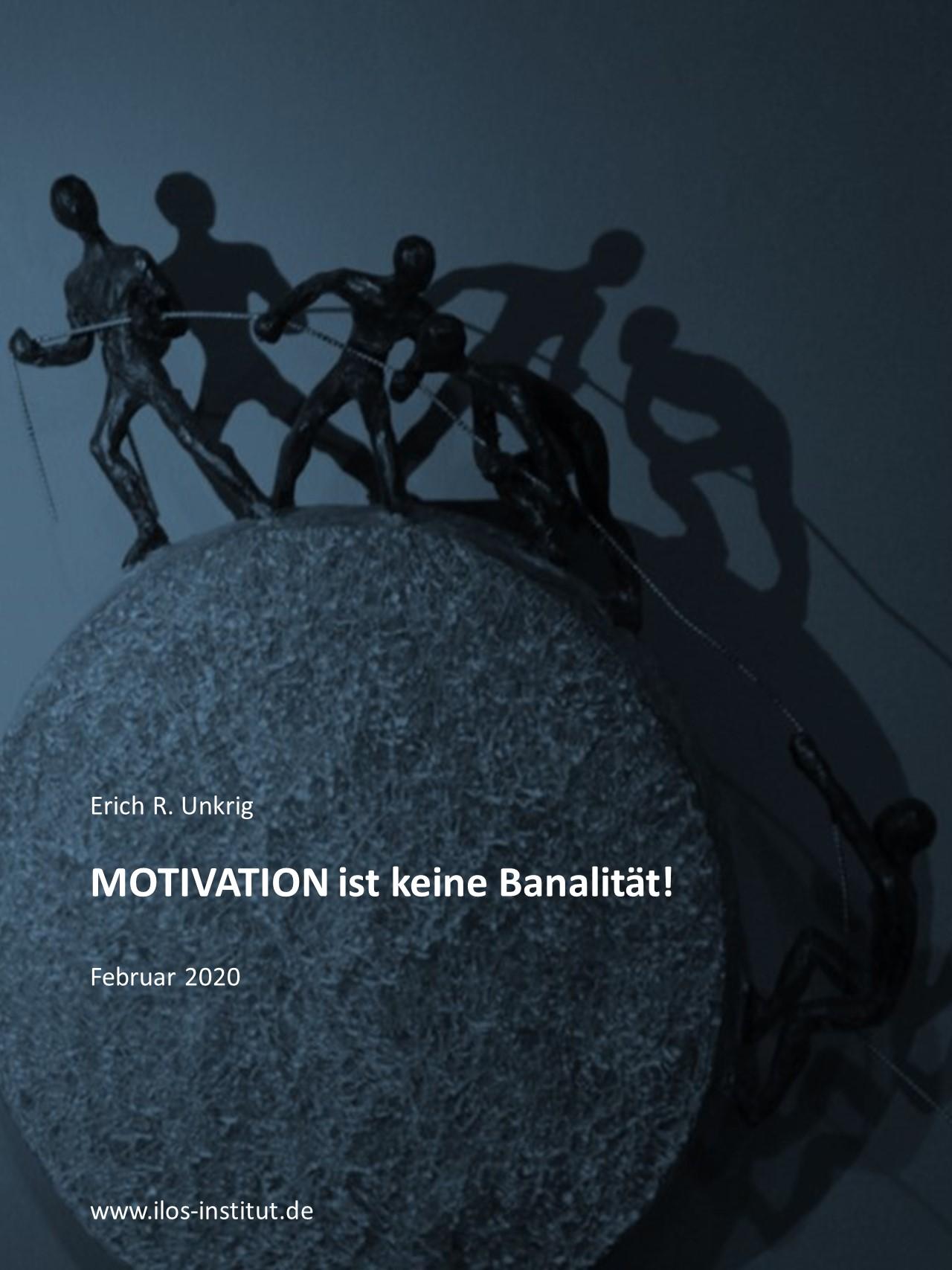 Cover zu MOTIVATION ist keine Banalität!