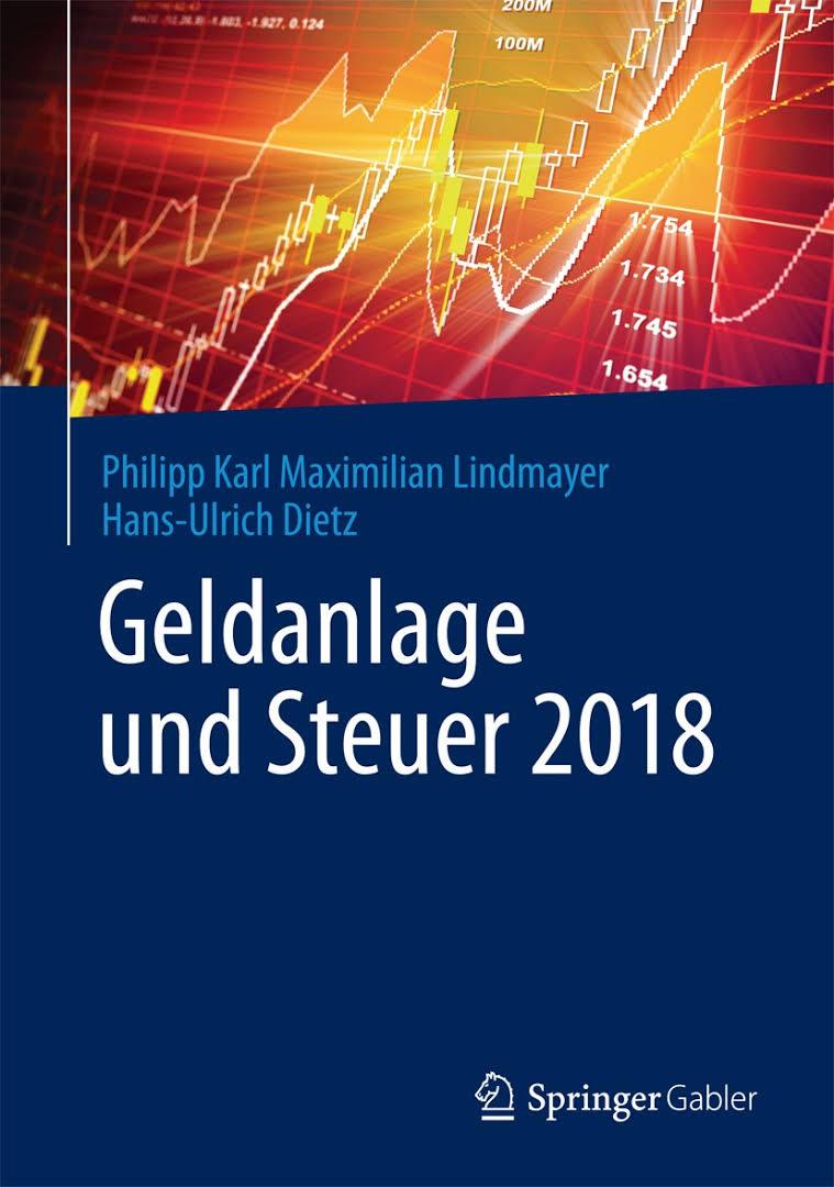 Cover zu Geldanlage und Steuer 2018