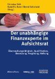 Cover zu Der unabhängige Finanzexperte im Aufsichtsrat
