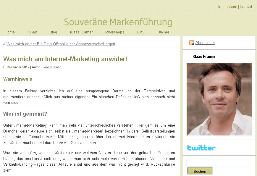 "Cover zu Was ist am ""Internet-Marketing"" falsch?"