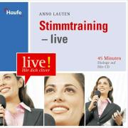 Cover zu Stimmtraining. CD