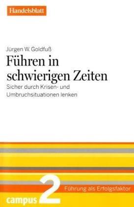 Cover zu Führen in schwierigen Zeiten - Handelsblatt 2