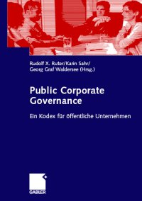 Cover zu Public Corporate Governance