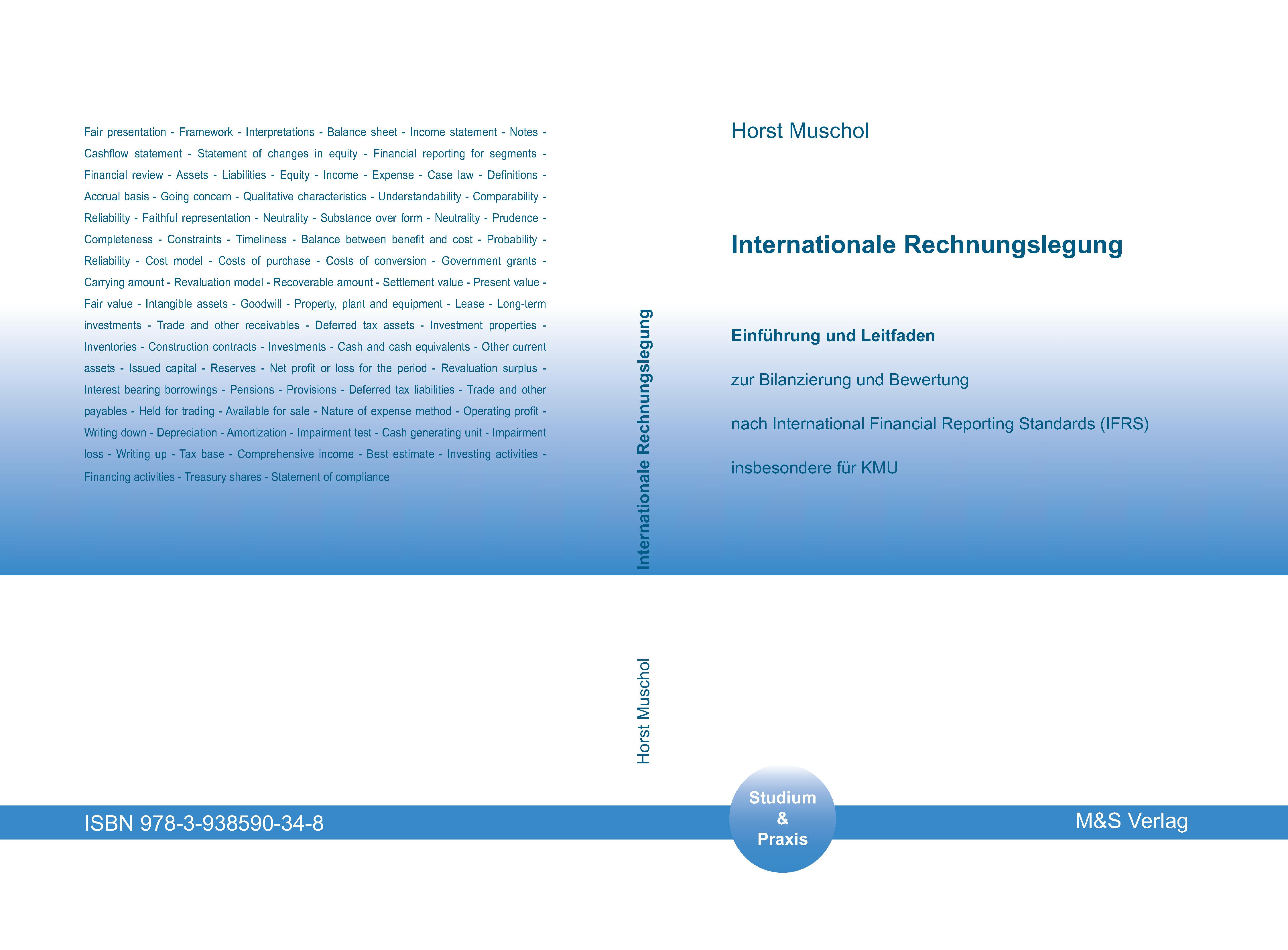 Cover zu Internationale Rechnungslegung