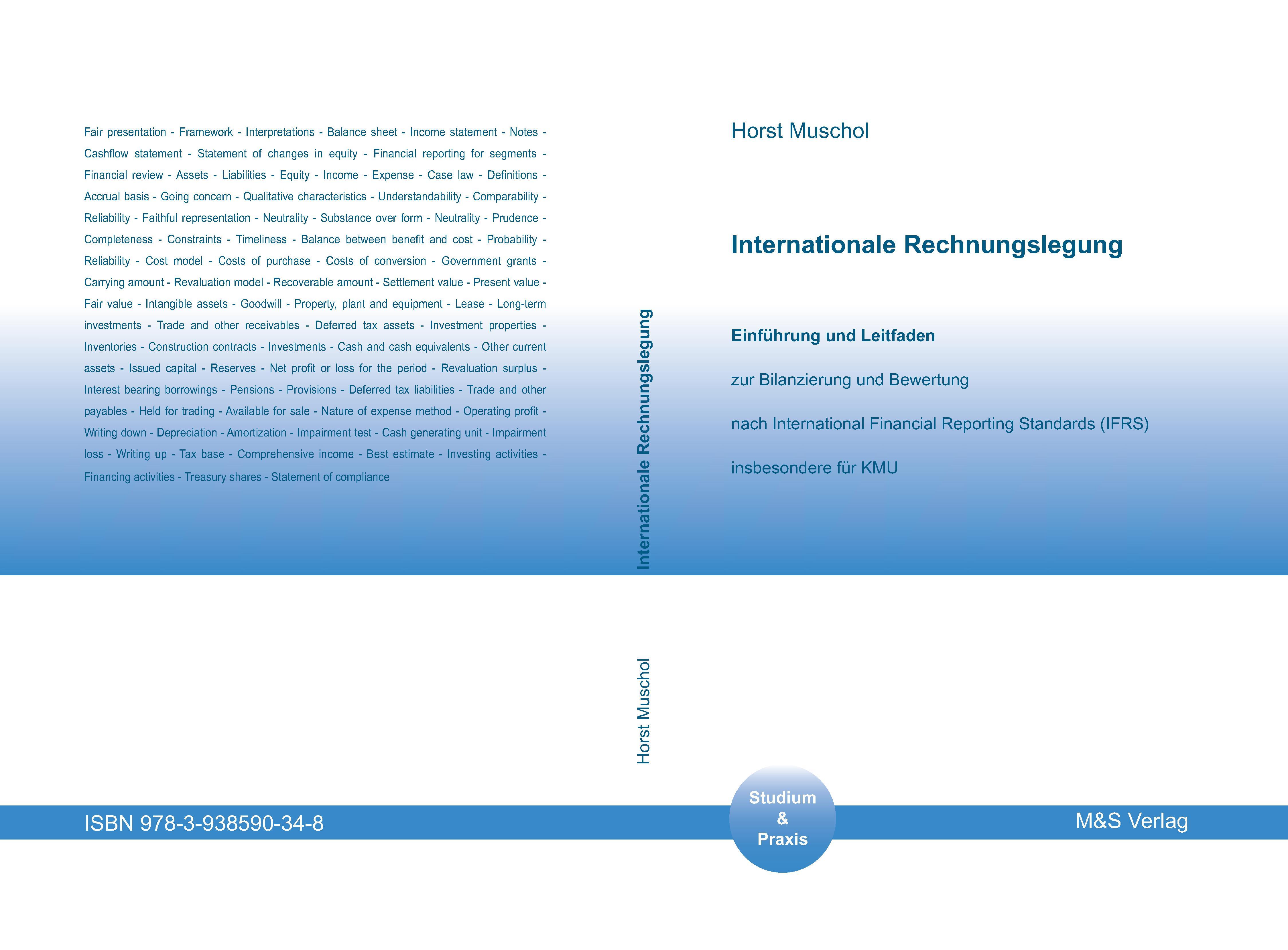 Cover zu Internationale Rechnungslegung