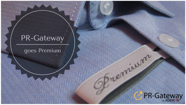 Cover zu PR-Gateway goes Premium