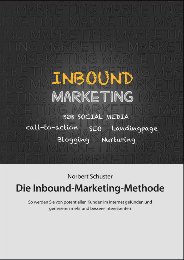 Cover zu Die Inbound Marketing Methode