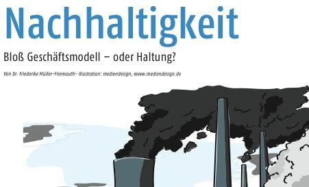 Cover zu Nachhaltigkeit - Geschäftsmodell oder Haltung?