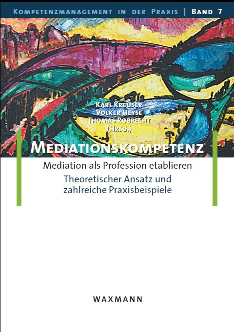 Cover zu Mediationskompetenz