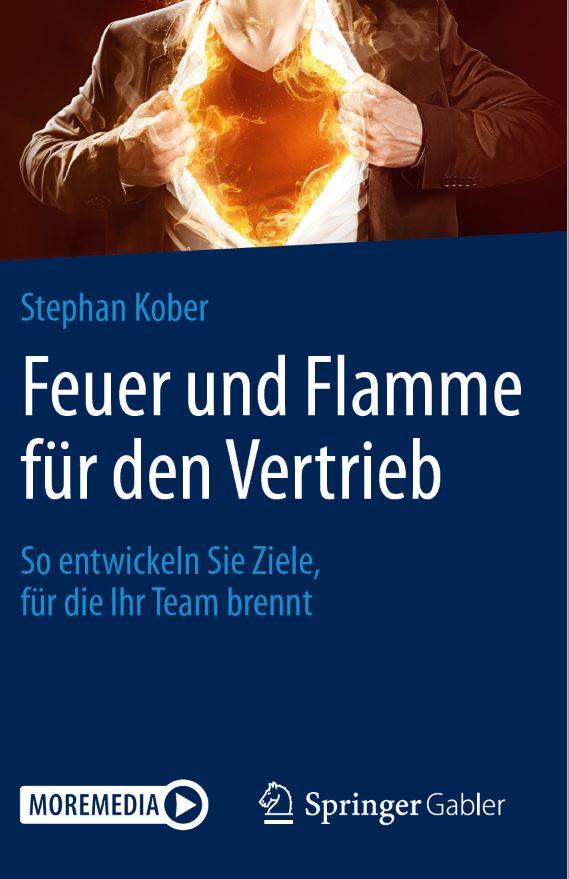 Cover zu Feuer und Flamme für den Vertrieb