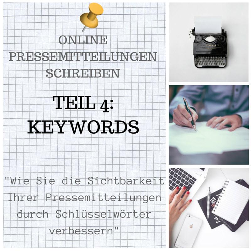 Cover zu Warum Keywords für Online-Pressemitteilungen so wichtig sind