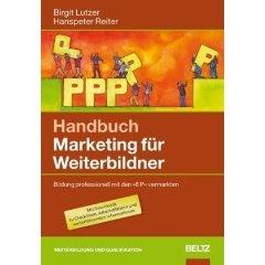 Cover zu Handbuch Marketing für Weiterbildner.