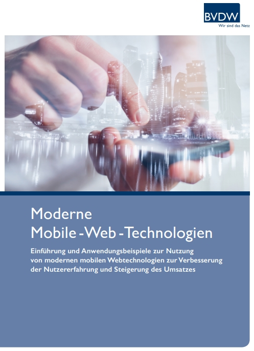 Cover zu Moderne Mobile - Web - Technologien