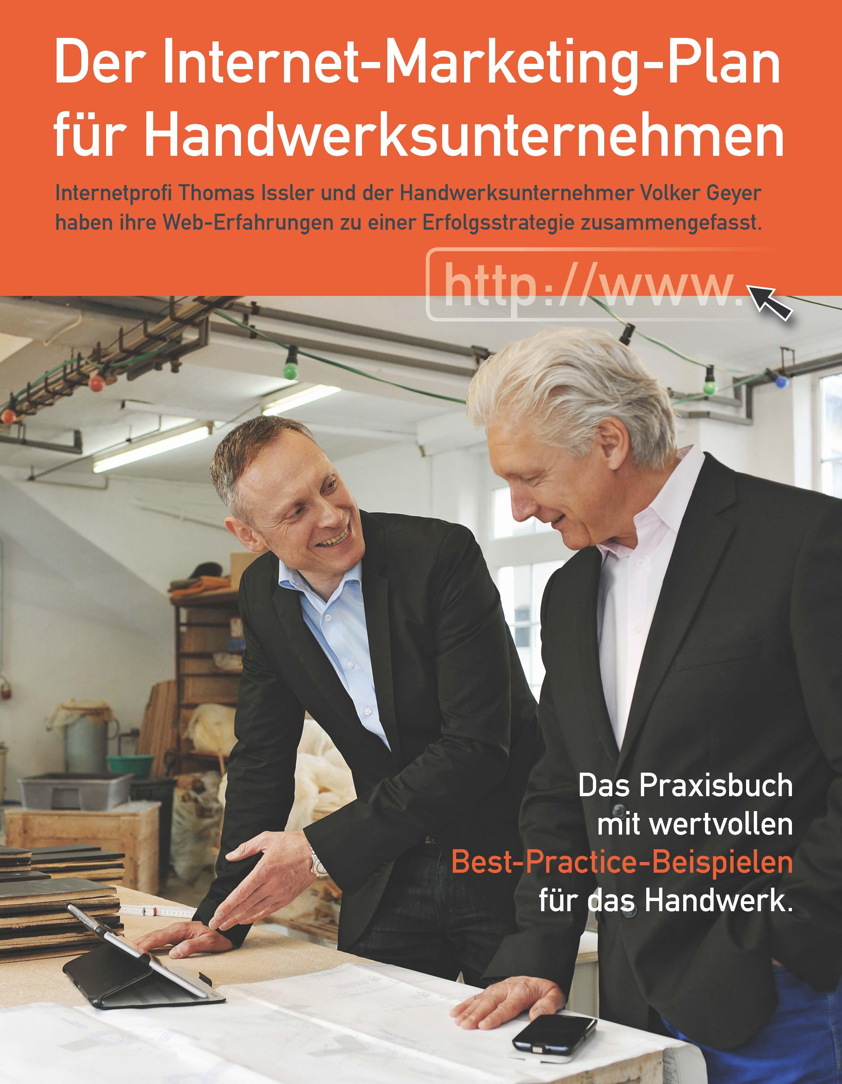 Cover zu Der Internet-Marketing-Plan für Handwerksunternehmen