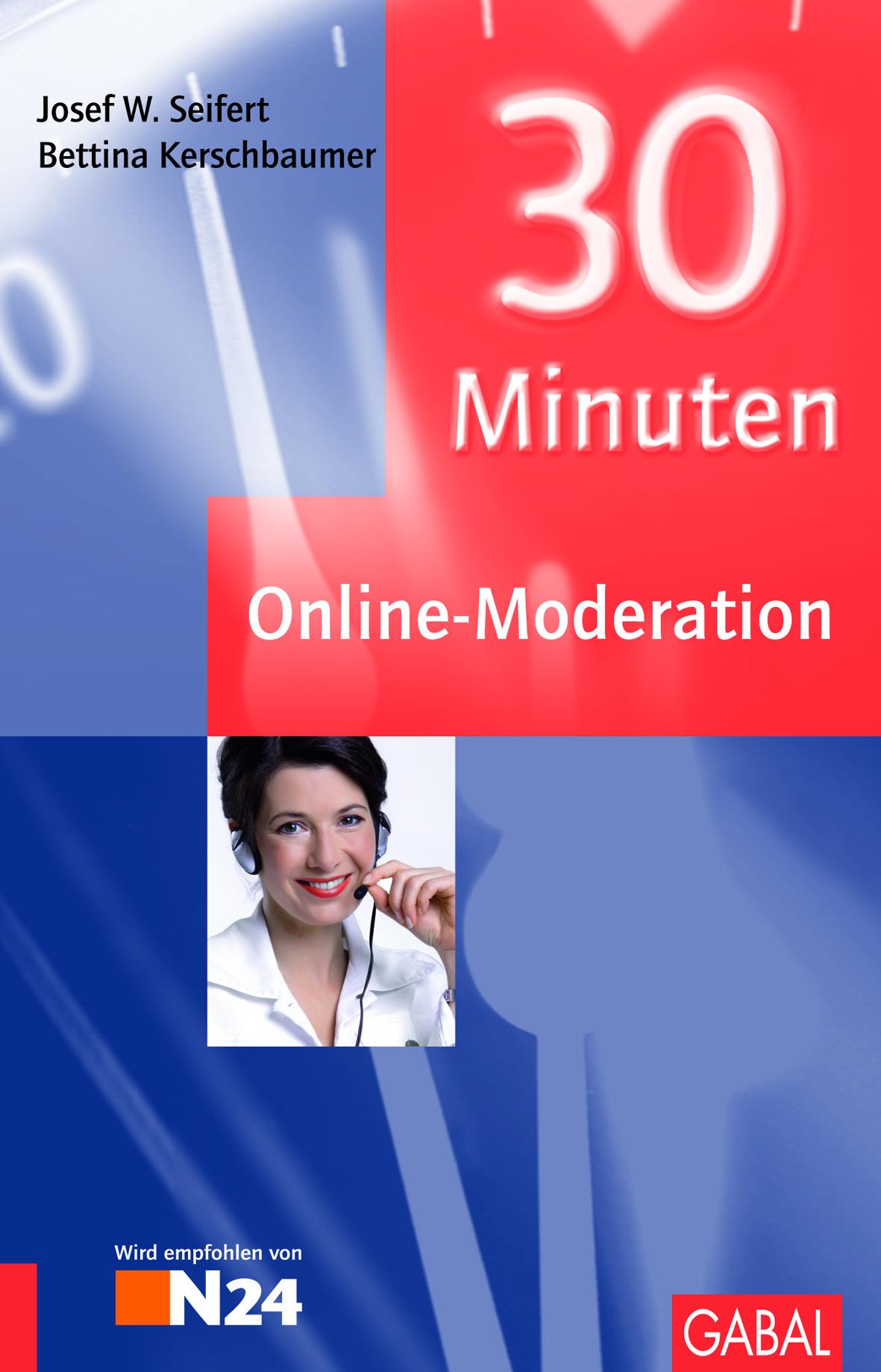 Cover zu 30 Minuten für Online-Moderation